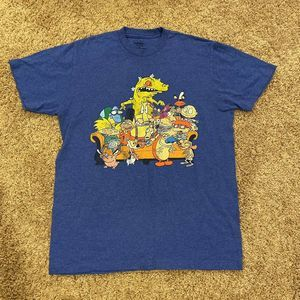 Nickelodeon Blue Shirt Mens Size Medium Rugrats